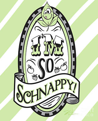 Digital Art - So Schnappy by Shari Warren