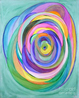Fusion Drawing - So Spring by Elena Fattakova
