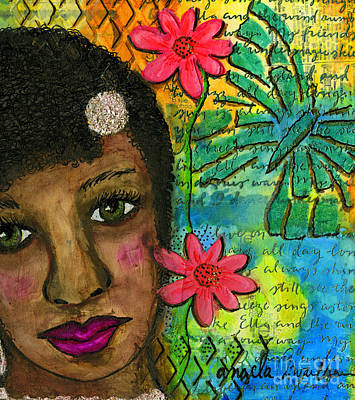 Mixed Media - So Sweet by Angela L Walker