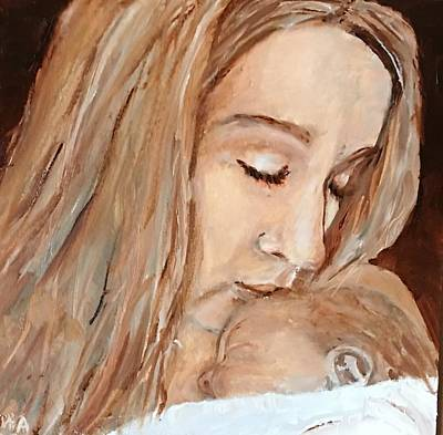 Painting - So This Is Love by MaryAnne Ardito