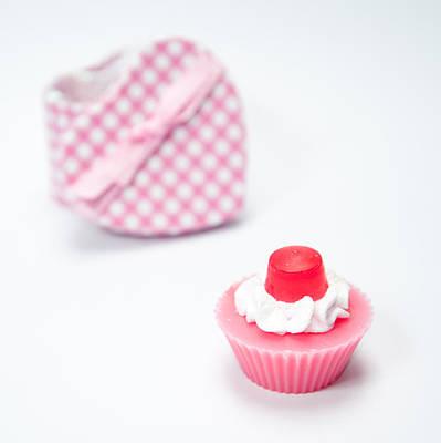Photograph - Soap Cake by Helen Northcott