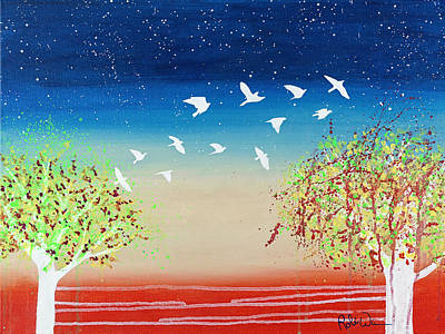 Painting - Soar by Robin Winningham