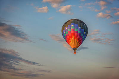 Photograph - Soaring At Sunrise by Rick Berk