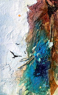 Mixed Media - Soaring by Helen Harris