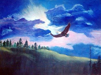 Painting - Soaring High by Catherine Swerediuk