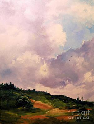 Soaring Painting - Soaring by Karen Winters