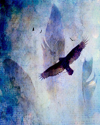 Digital Art - Soaring by Lisa Noneman