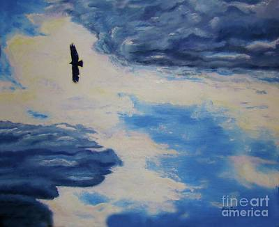 Painting - Soaring   by Lisa Rose Musselwhite