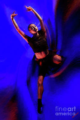 Photograph - Soaring Though Dance by Blake Richards