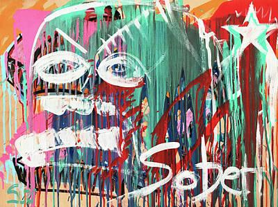 Mixed Media - Sober  by Surj LA