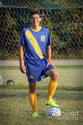 Photograph - Soccer 03 by E B Schmidt