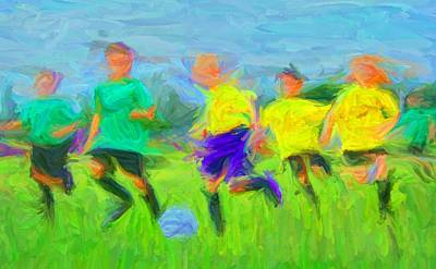 Digital Art - Soccer 3 by Caito Junqueira