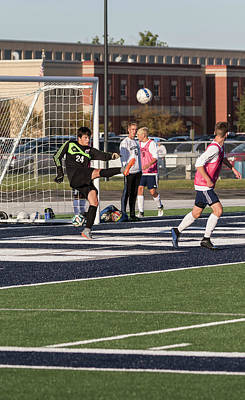 Photograph - Soccer 8-31-2017-4 by Thomas Young