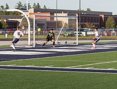 Photograph - Soccer 8-31-2017-8 by Thomas Young
