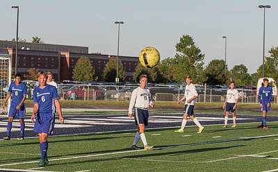 Photograph - Soccer 8-31-2017-9 by Thomas Young