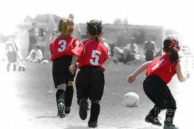 Photograph - Soccer Champs by Dyle   Warren