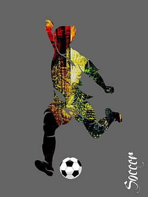 Soccer Collection Art Print
