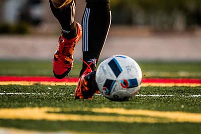 Soccer Photograph - Soccer by Hyuntae Kim
