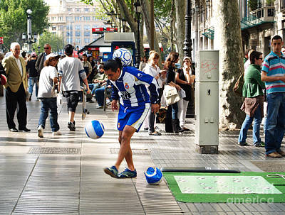 Photograph - Soccer Performance by Haleh Mahbod
