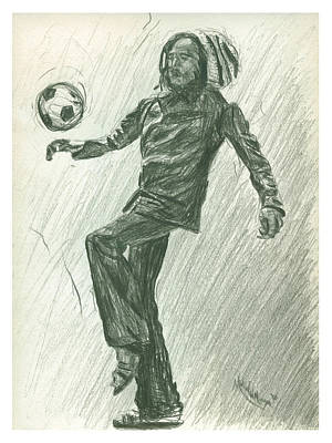 Soccer Time Art Print