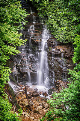 Maggie Valley Photograph - Socco Falls by Stephen Stookey