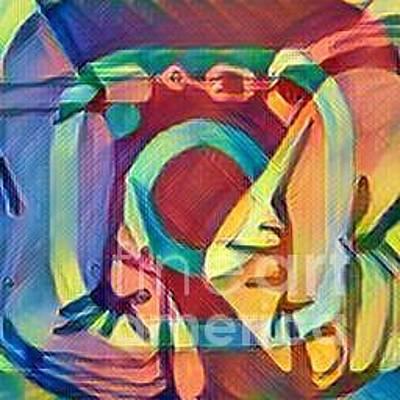 Imprisonment Painting - Social Imprisonment by Tanumaleu Tai