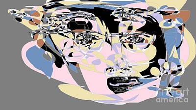 Digital Art - Social Media Maiden by Nancy Kane Chapman