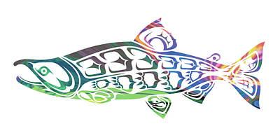Sockeye Salmon Original by Mark Baccay