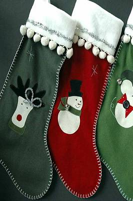 Photograph - Sockings For Christmas by Sheila Mcdonald