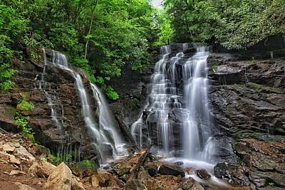 Photograph - Soco Falls by Chris Berrier
