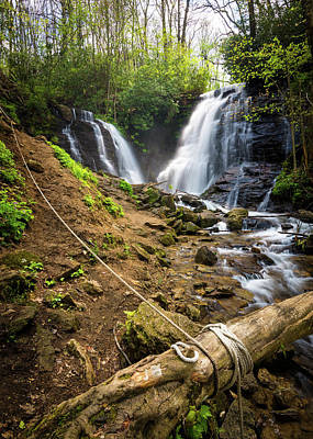 Maggie Valley Photograph - Soco Falls by Clay Townsend