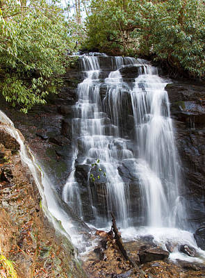 Photograph - Soco Falls by Craig T Burgwardt