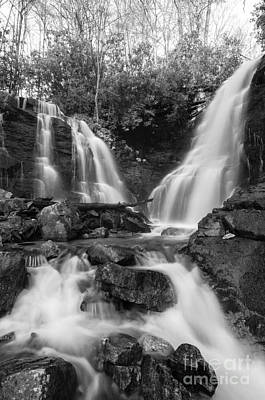 Photograph - Soco Falls - D009628-bw by Daniel Dempster