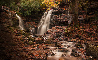Maggie Valley Photograph - Soco Falls by Kim and Joe Brownfield