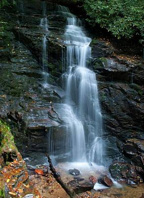 Maggie Valley Photograph - Soco Falls by Michele Leonard