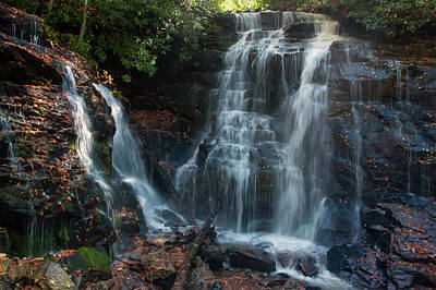 Photograph - Soco Waterfalls  by Chris Flees