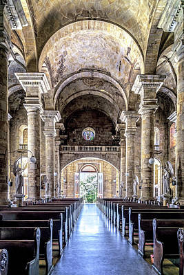 Photograph - Socorro Cathedral by Maria Coulson