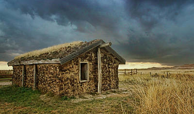 Photograph - Sod House - Toadstool Geologic Park by Nikolyn McDonald