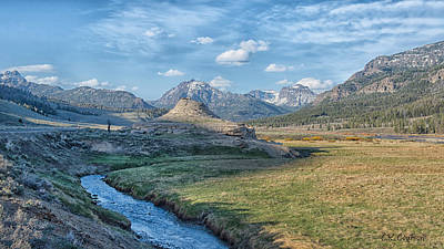 Photograph - Soda Butte by CR  Courson