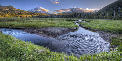 Bend Oregon Photograph - Soda Creek In Summer by Twenty Two North Photography