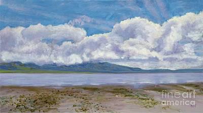Painting - Soda Lake After The Storm by Betsee Talavera