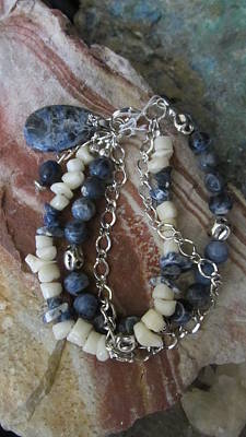 Jewelry - Sodalite #b001 by Barbara Prestridge