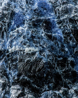 Sodalite Photograph - Sodalite by Mark Bradley