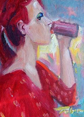 Painting - Sodapop by Ron Wilson