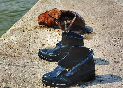 Photograph - Shoes On The Danube by Kathi Isserman