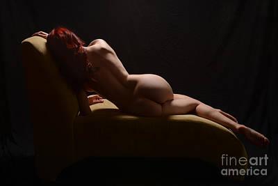 Sofa Curves Art Print by Jt PhotoDesign