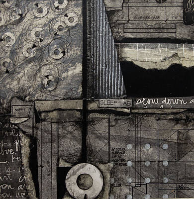 Black Mixed Media - Soffit by Laura Lein-Svencner