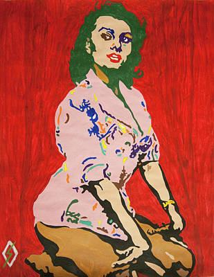 Painting - Sofia Villani Scicolone by Stormm Bradshaw
