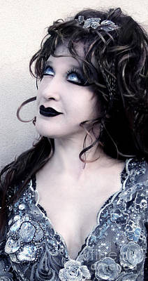 Sofia Metal Queen - Gothic Mood - Hope Art Print