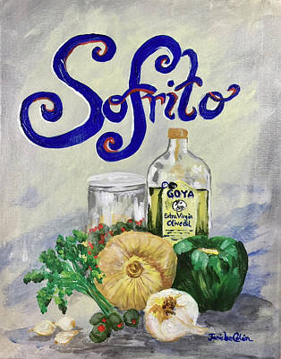 Painting - Sofrito by Janis Lee Colon